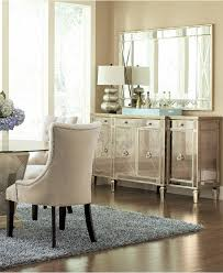 Dining Room Furniture Sideboard Marais Mirrored Credenza Sideboard Furniture Mirrored Sideboard