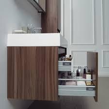 Designer Bathroom Vanity Units Stone Bagno Walnut Designer Bathroom Wall Mounted Vanity Unit 1000