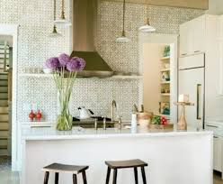 kitchen wallpaper ideas green kitchen wallpaper designs designcorner