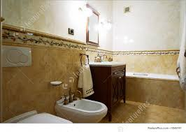 picture of bathroom in old style