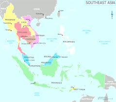 Political Map Asia by Map Of Southeast Asia Best South East Asia Political Map