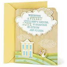 hallmark signature baby shower greeting card