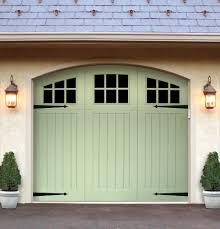 Exterior Garage Door by Symphony Series Quality Crafted Vinyl Garage Doors Artisan