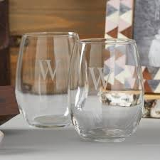 wine glass gifts cathys concepts gifts 21 oz stemless wine glass reviews wayfair