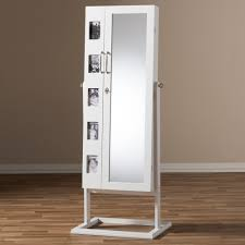 Jewelry Box Mirror Stand Armoire Amazing Free Standing Jewelry Armoire Design Vintage