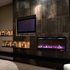 electric fireplace built in ideas with bar shelves living room ins