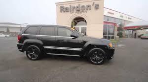 jeep cherokee blacked out 2007 jeep grand cherokee srt8 black stk631312 everett