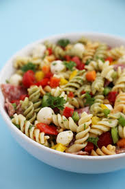 recipes with pasta italianpastasalad 3 jpg