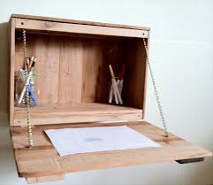 Fold Out Desk Diy Home Design Pretty Diy Wall Mounted Folding Desk Fold Away