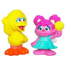 sesame street playskool abby cadabby u0026 big bird figures