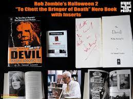 halloween 2 rob zombie u0027s devil walks among us hero book original