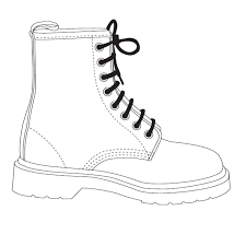 image for the resource doc marten template shoes spec drawings