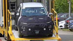 hyundai kona ev spied mixing efficiency and style