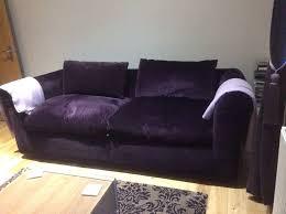 Velvet Sofa Bed Charming Purple Velvet Sofa Bed For Your Home Decor Interior