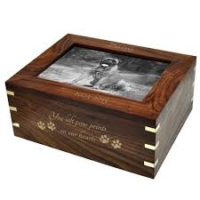 personalized urns wholesale dog urns wood box with photo frame large