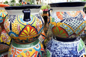 Mexican Pottery Vases Talavera Pottery Sloat Garden Center