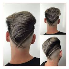undercut back design men men modern haircuts together with v fade haircut with hair design