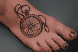 10 compass tattoos so you ll never lose your way