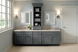 diamond intrigue lisette maple peppercorn bathroom cabinets