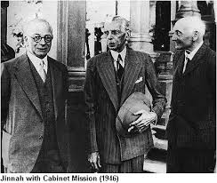 The Cabinet Members Aistory Mohammad Aljinnah The Cabinet Mission 1946