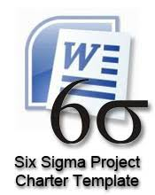 download six sigma project charter template