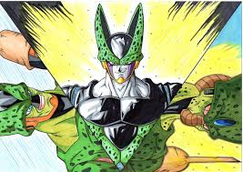 drawing cell transformations dragon ball