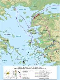 Map Of Ancient Greece And The Aegean World by The Persian Wars Barbarism V Civilisation Barbarism And Civilization