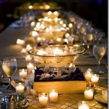 candle centerpieces candle centerpieces weddinggawker