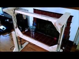 homemade convertible standing desk youtube