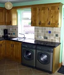 Colored Washing Machines Utility Room Designs 2017 Grasscloth Wallpaper
