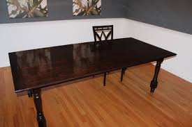 ana white new farmhouse dining room table diy projects