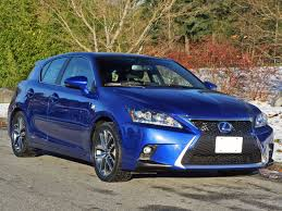 youtube lexus ct200h 2015 2015 lexus ct 200h f sport road test review carcostcanada