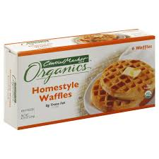 Toaster Waffles Central Market Organics Homestyle Waffles Shop Waffles And