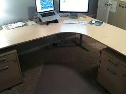 Office Desk Set Up The Four Ways To Configure A Desk What S Best Next