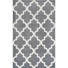 nuloom meeker trellis grey 4 ft x 6 ft area rug rzpl02a 406