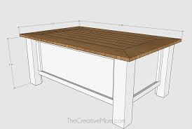 Plywood Coffee Table Farmhouse Coffee Table With Storage Buildsomething