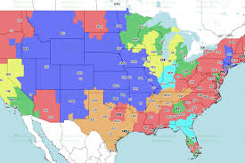 Jacksonville Map Jaguars Vs Colts Week 13 Tv Viewing Map On Cbs Big Cat Country