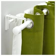 Ikea Velvet Curtains Green Curtains Ikea Curtain Rod Combination Sheers And