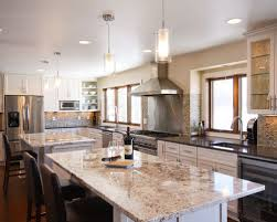 kitchen with two islands two kitchen islands houzz