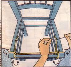 rempailler une chaise rempailler une chaise chaise chaises bricolage et