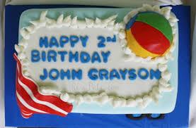 pool or beach party birthday cake rose bakes