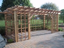 finehomebuilding cedar pergola fine homebuilding