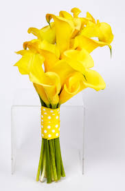 yellow calla yellow calla lilly bouquet flowers of sydney