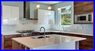 Subway Tile Backsplash White Cabinets Appealing Grey Glass Subway Tile Kitchen Backsplash With White