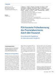 si e psa psa screening determinants of pdf available