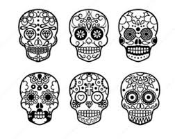 Halloween Skulls Dead Clipart Halloween Skull Pencil And In Color Dead Clipart