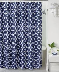 shower curtain extension shower curtain with navy blue santorini also geometric printed