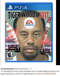 Not Texting Back Memes - tiger woods got a dui and his mugshot is already being turned into a