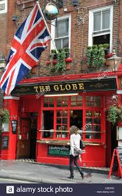 union jack pub stock photos union jack pub stock images alamy the globe pub british flag union jack traditional english beer culture patriotic stock image
