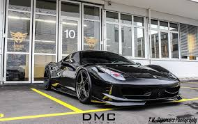ferrari 458 custom dub magazine murdered out ferrari 458 italia by dmc